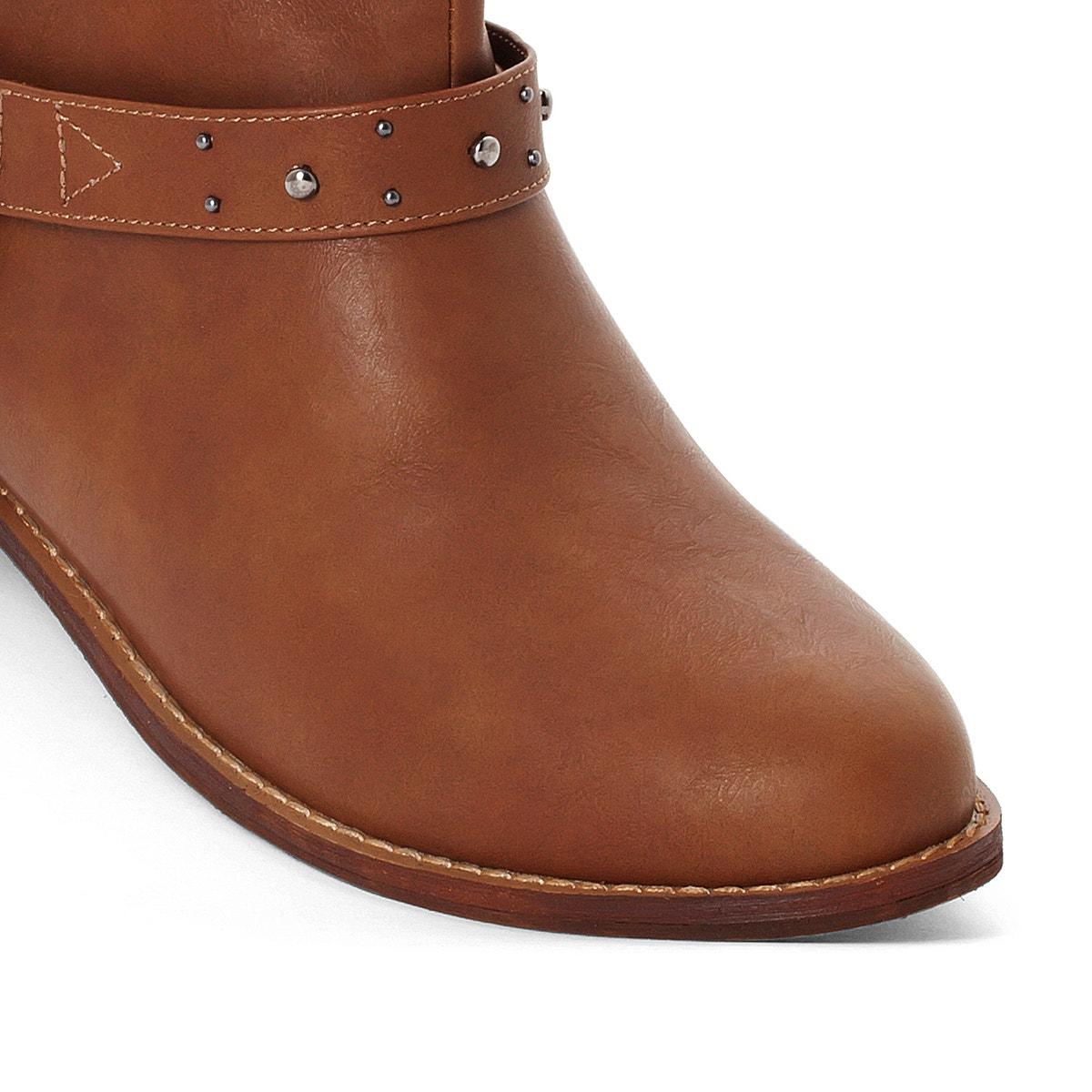 Castaluna Damenschuhe Größes Biker Stiefel Wide Fit, Größes Damenschuhe 38-45 b259f4