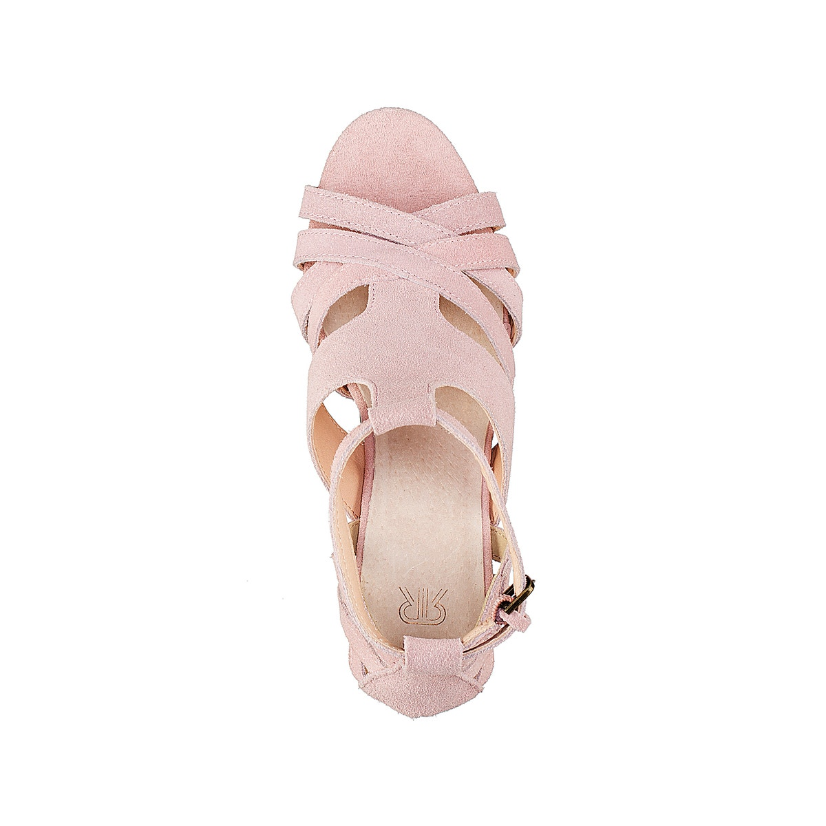 La ROToute Collections Damenschuhe Heel Leder Sandales With Rounded Heel Damenschuhe 230e58