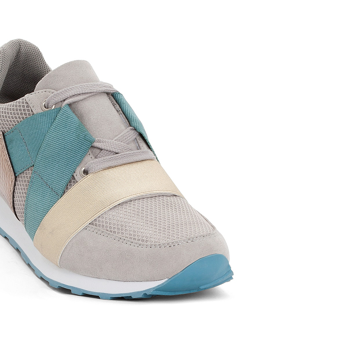 La Redoute Trainers Collections Womens Ultra Light Trainers Redoute With Elastic Detail 363928