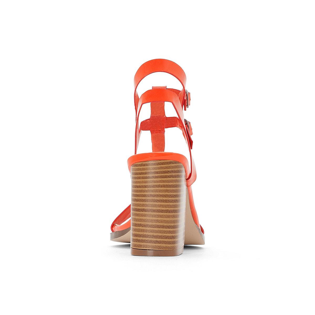 La Sandales ROToute Collections Damenschuhe Patent Sandales La 28927c