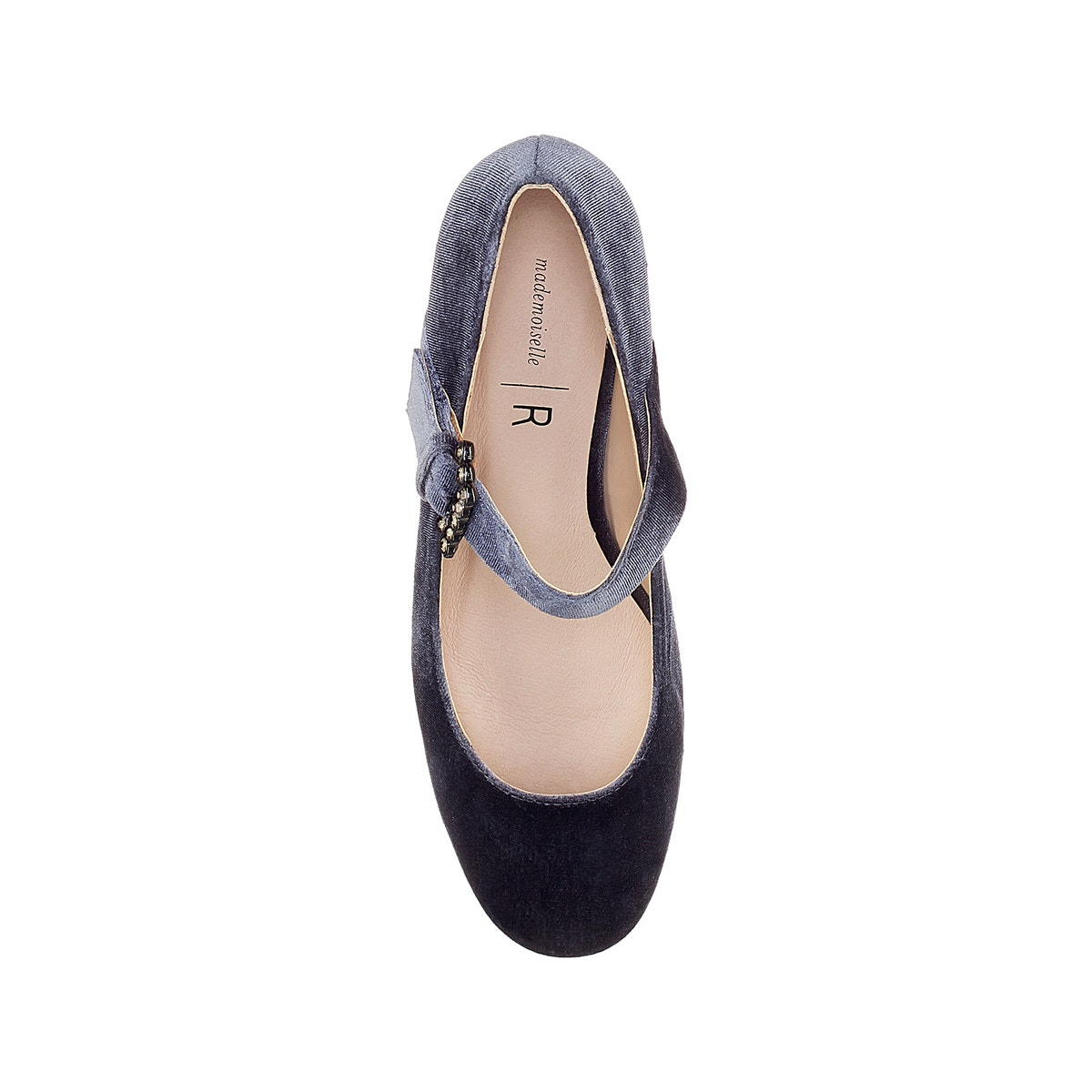 La ROToute Collections Damenschuhe Embellished Dual Strap Ballet Pumps