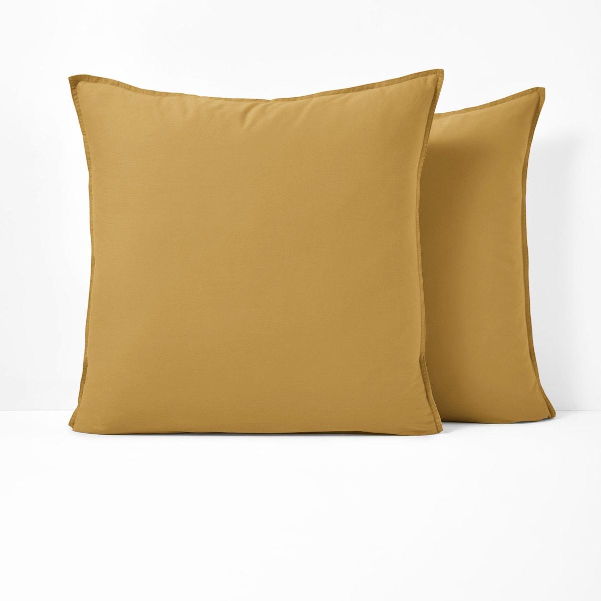 La Redoute Interieurs Unisex Washed Cotton Pillowcase 350106234