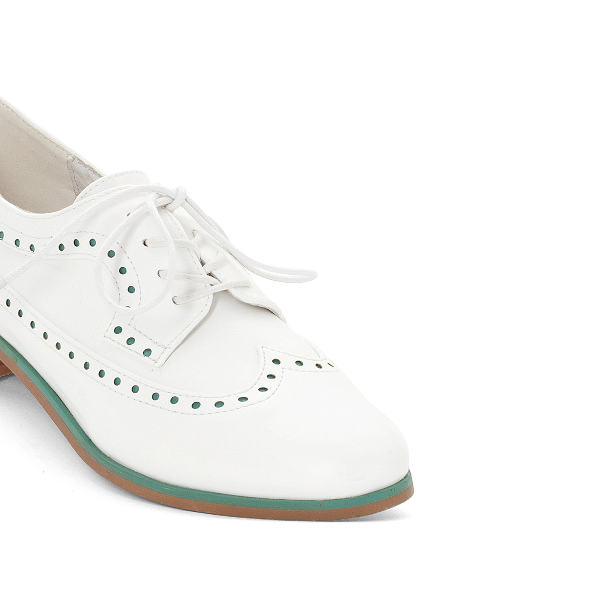 La ROToute Collections Damenschuhe Perforated Brogues
