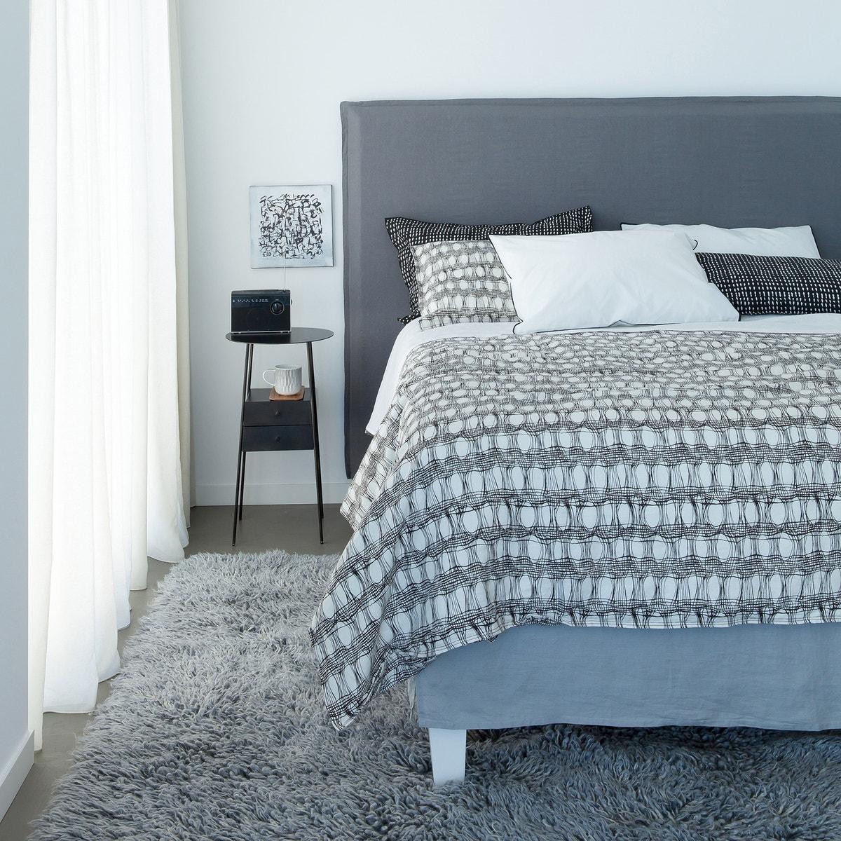 La Redoute Sandor Pre Washed Linen Headboard 350053270 Cover