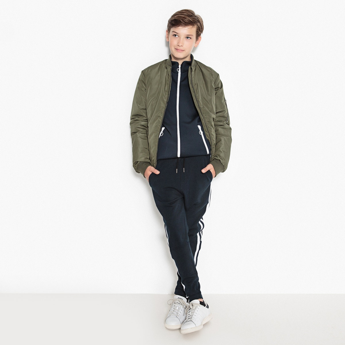 29a9755bc3700 La Redoute Collections Boys Bomber Jacket, 10-16 Years   eBay