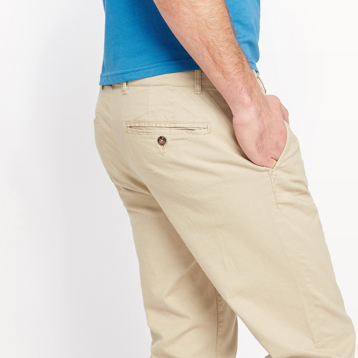 0c35b07c3a56 La Redoute Collections Mens Alexis Straight Cut Chinos   eBay