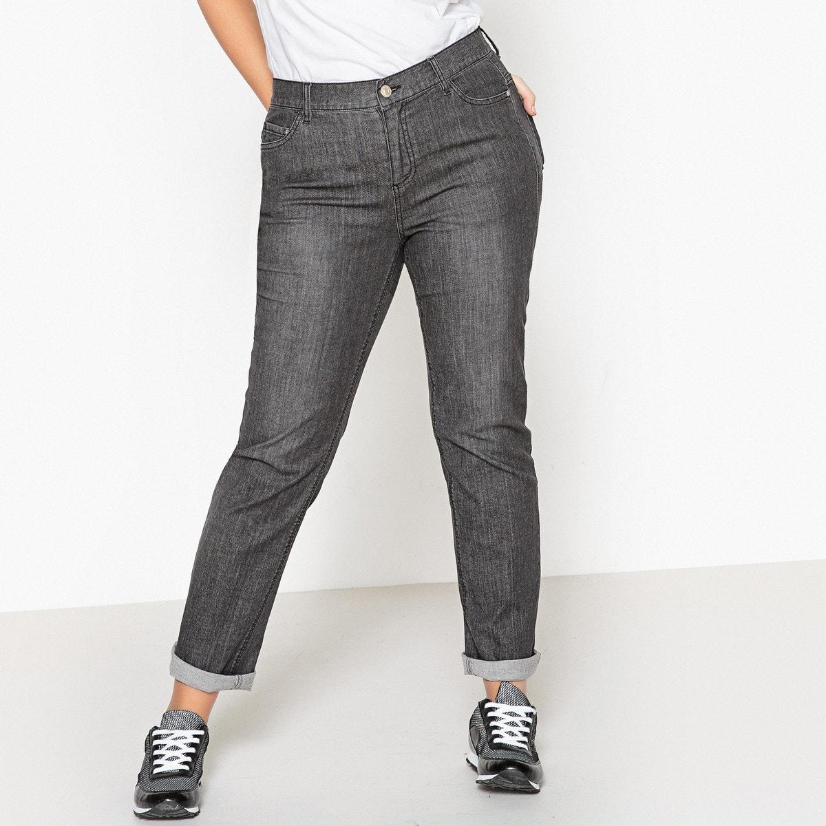 Castaluna kvinnor Curvy Fit Straight Stretch Jeans, Längd 31