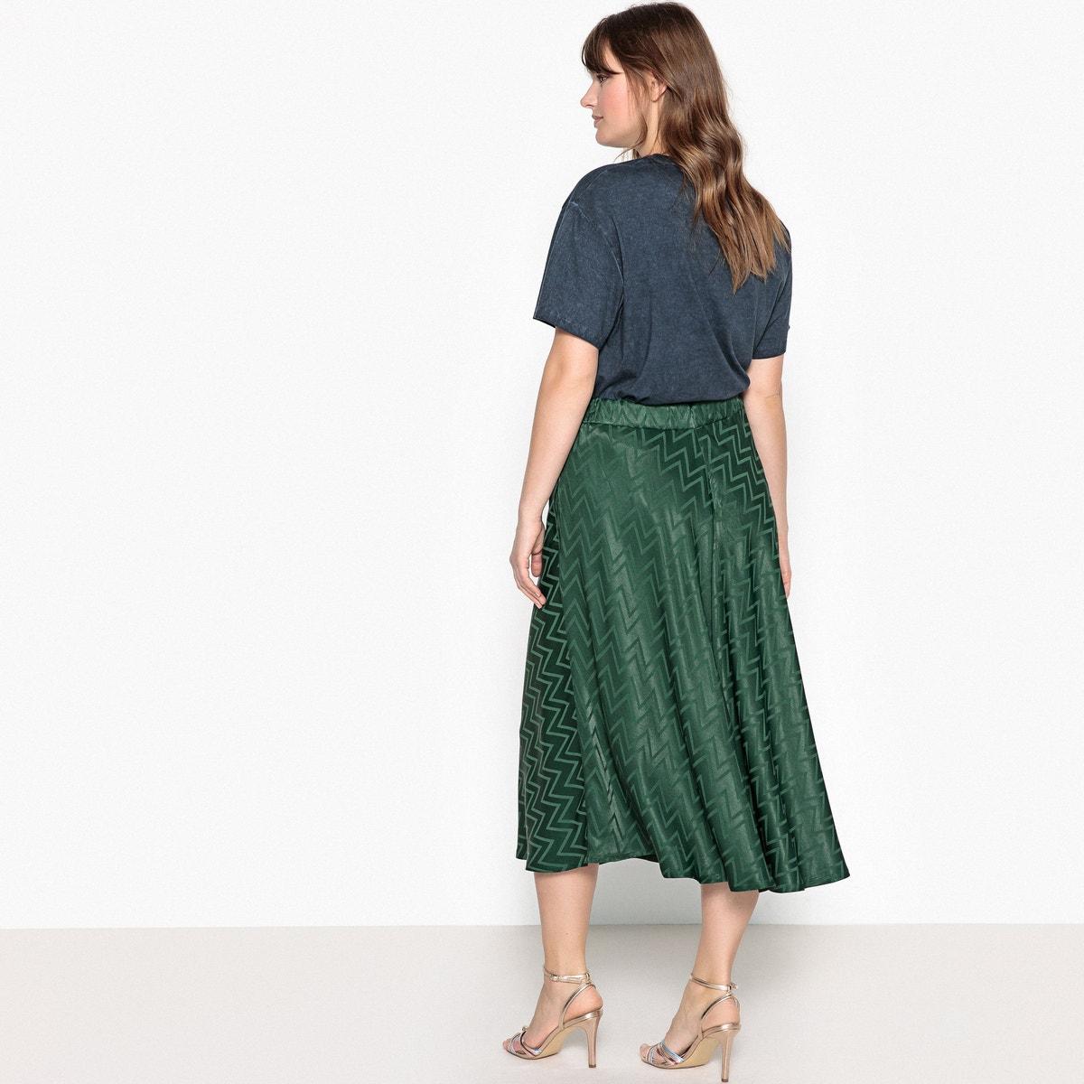 1d048d978d8 Castaluna Womens Zig Zag Patterned Midi Skirt Nbsp