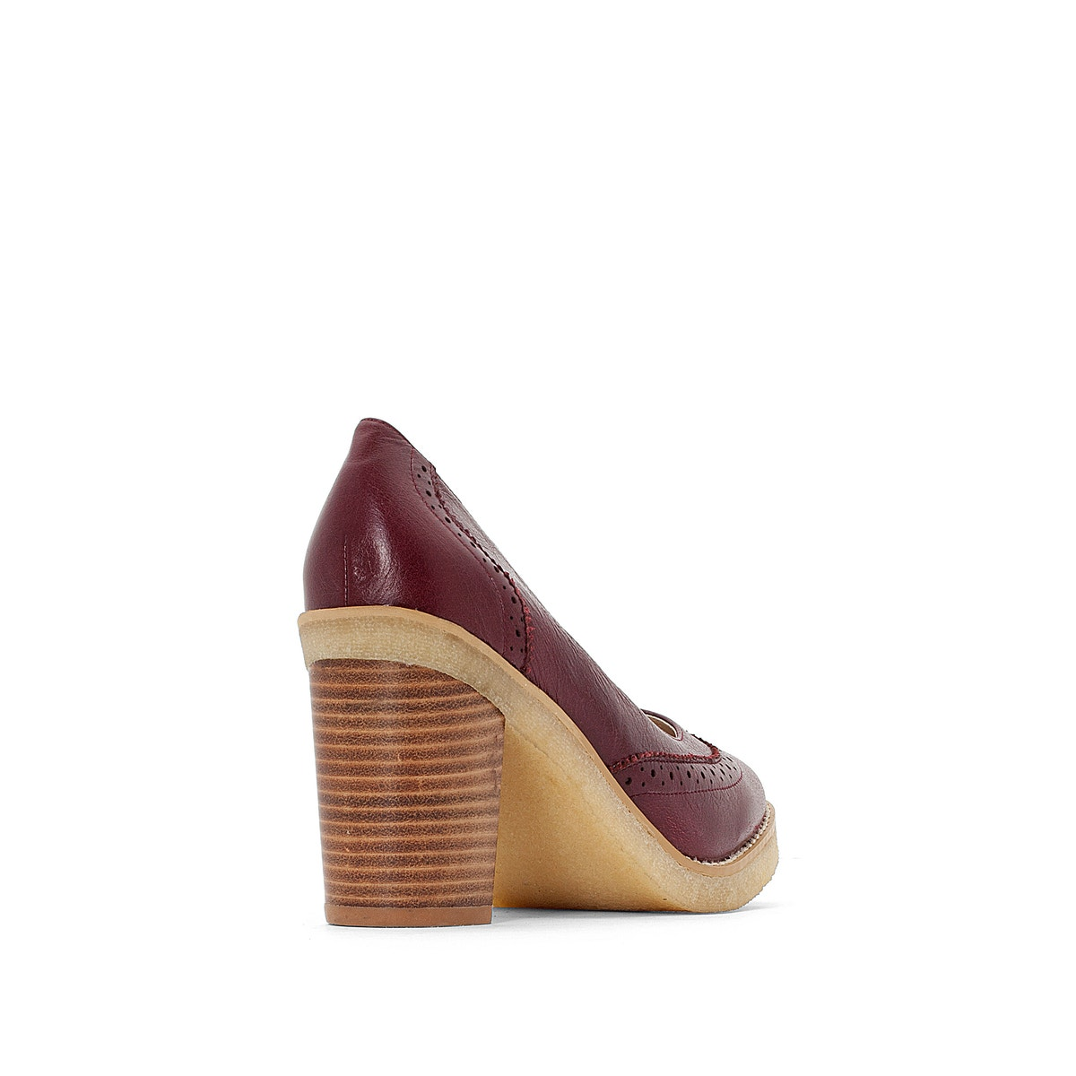 La Redoute Collections Womens High Heels Heel Leather Heels High ee9dc8