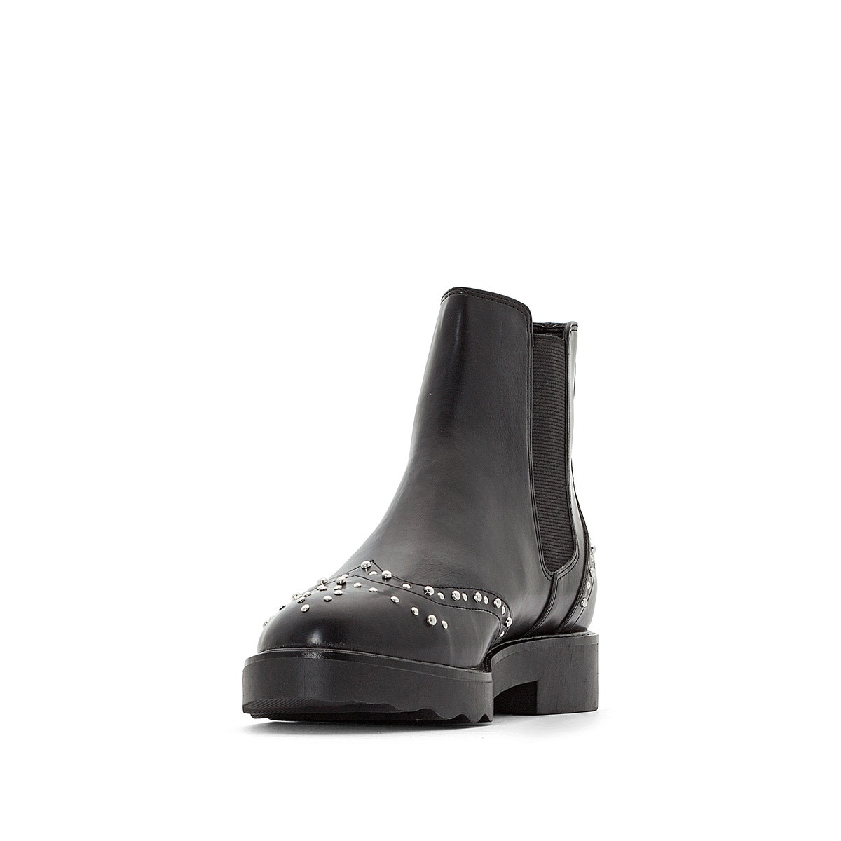 La ROToute Collections Damenschuhe Ankle Detail Stiefel With Studded Detail Ankle de57f6