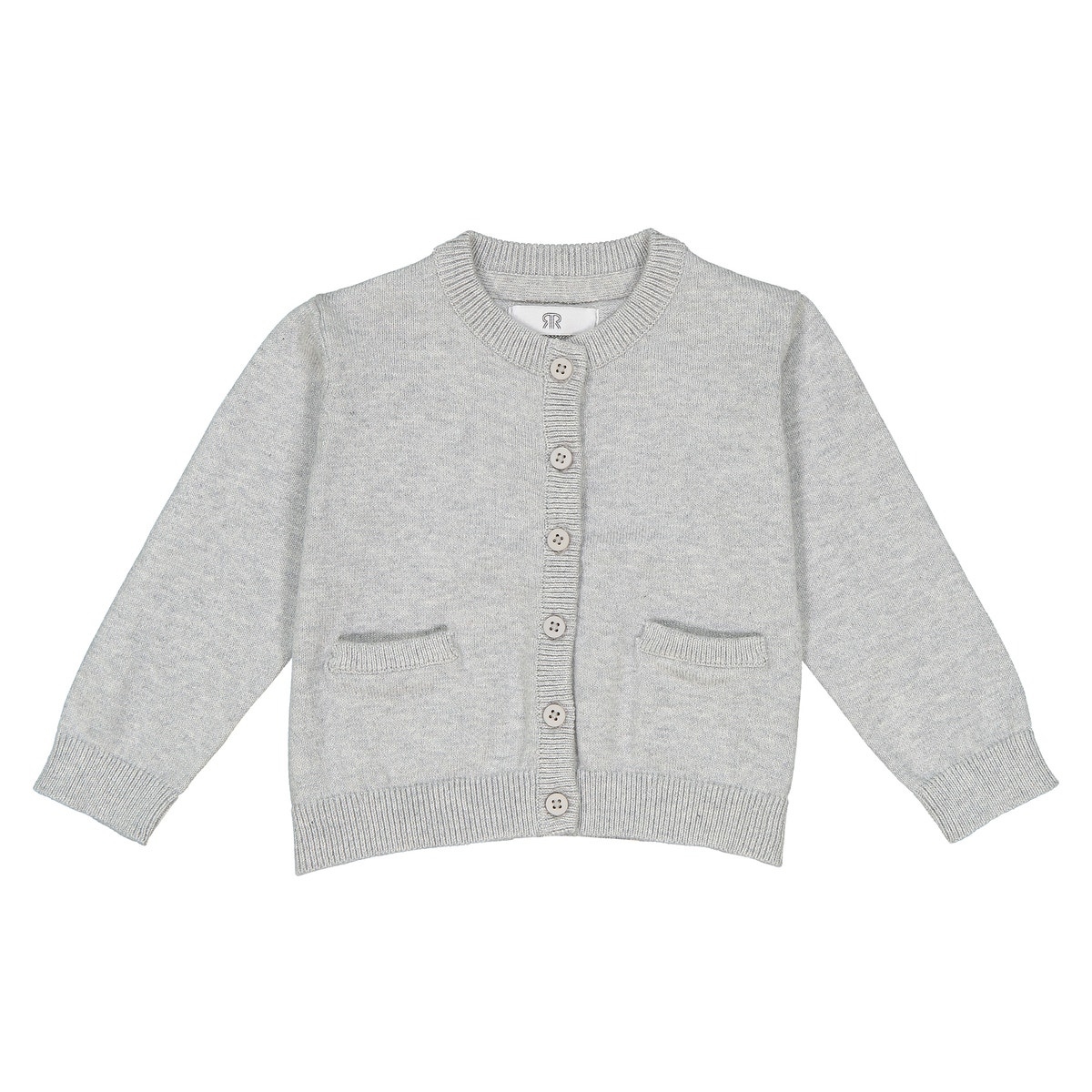 La-Redoute-Collections-Girl-Fine-Gauge-Knit-Cardigan-1-Month3-Years