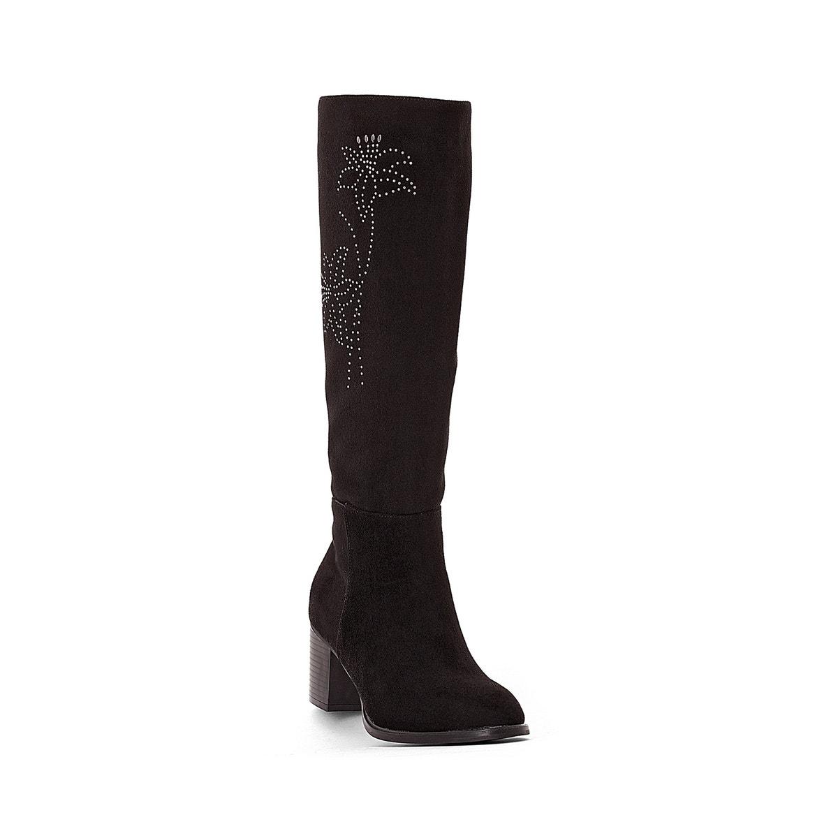 La Motif ROToute Damenschuhe Stiefel With Floral Motif La 442155