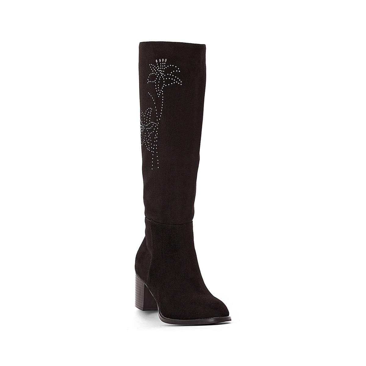 La ROToute Damenschuhe Stiefel With With Stiefel Floral Motif 830e86