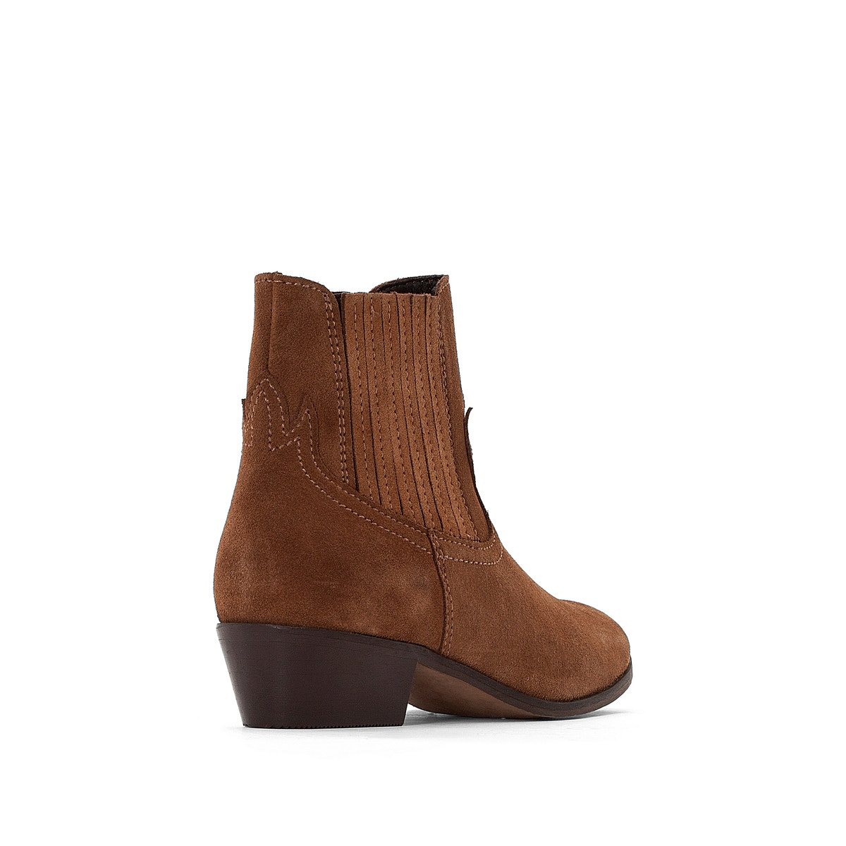 La Redoute Collections Womens Leather Cowboy Boots Boots Boots dc6317