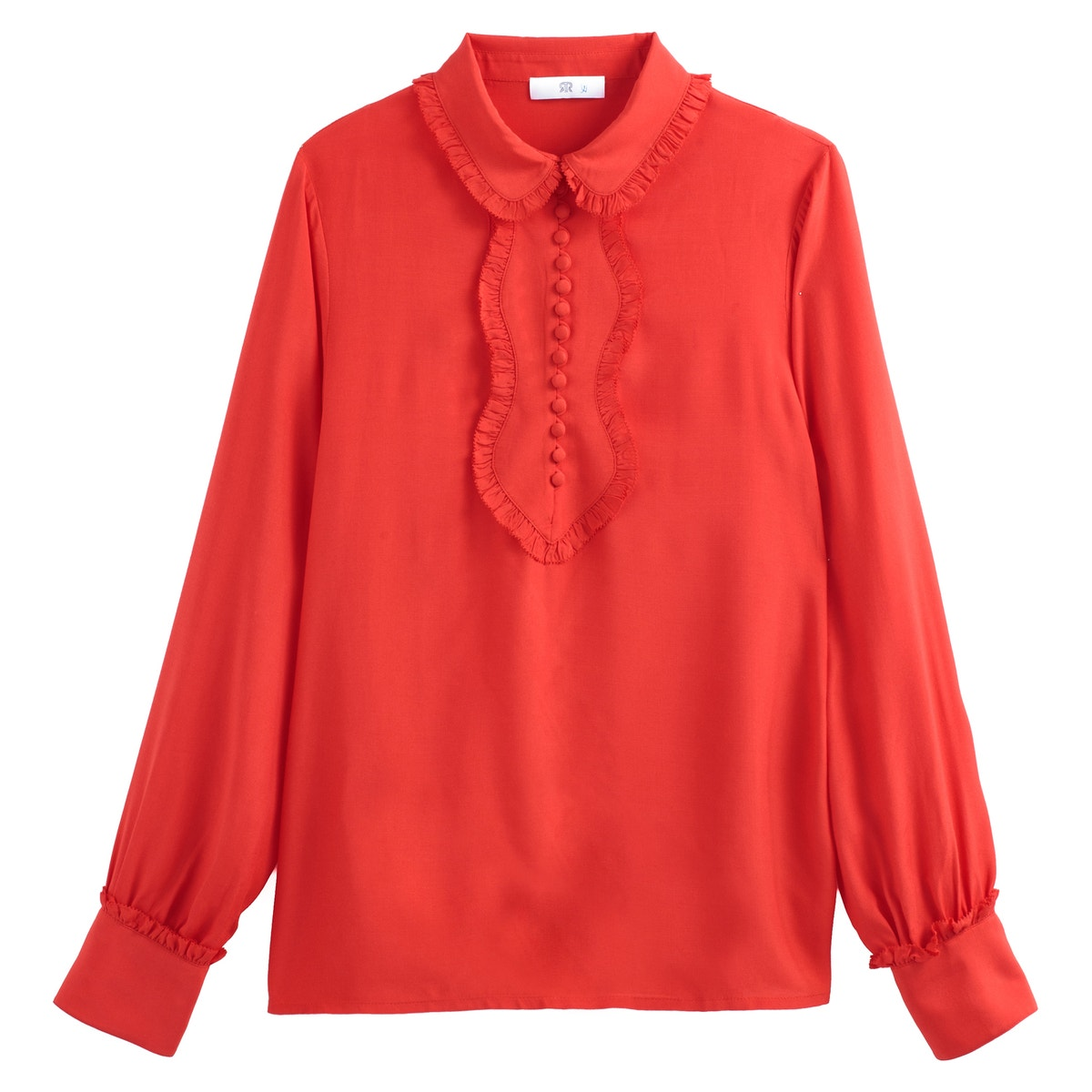 La rotoute Collections damen Ruffled Blouse