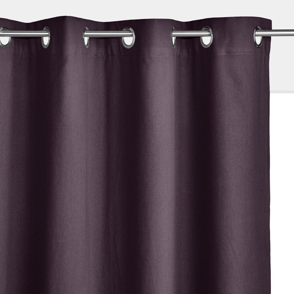 La rotoute Interieurs Taima Linen & Cotton Cotton Cotton Single Curtain 350084754 fda5f3