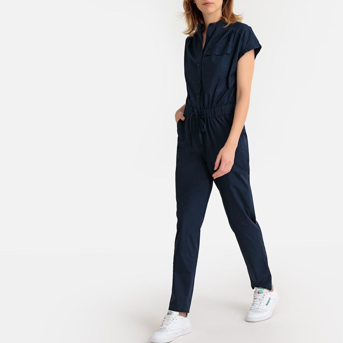 cb4d115e2c1 La-Redoute-Collections-Womens-Drawstring-Waist-Jumpsuit-350140365 thumbnail