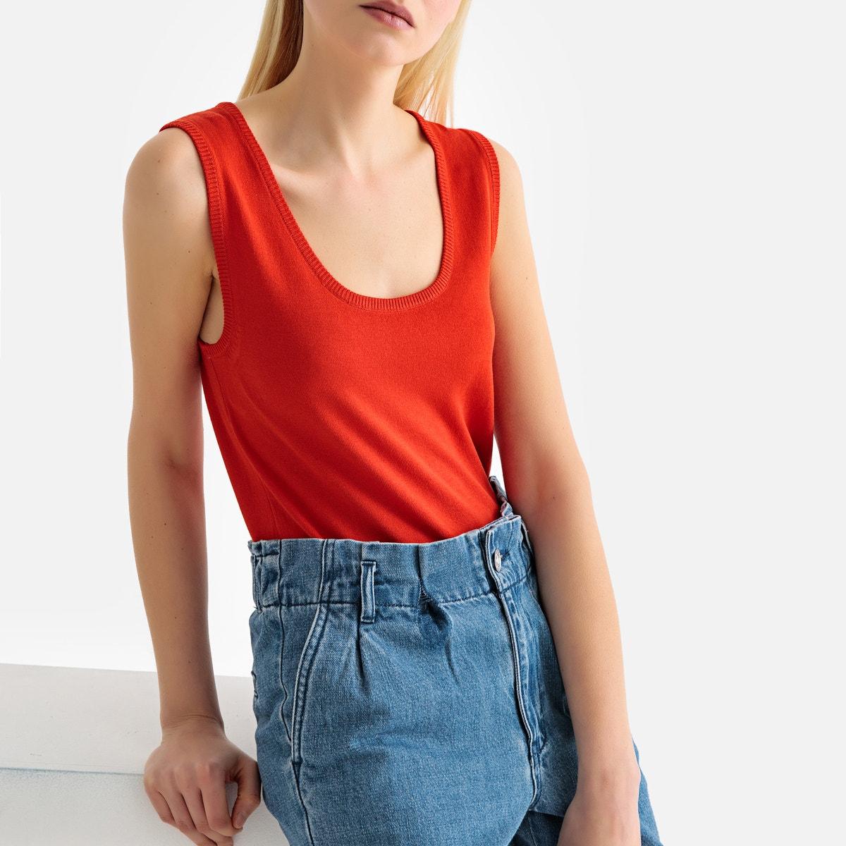 f4b894622a La Redoute Womens Fine Gauge Knit Tank Top 350134340 | eBay