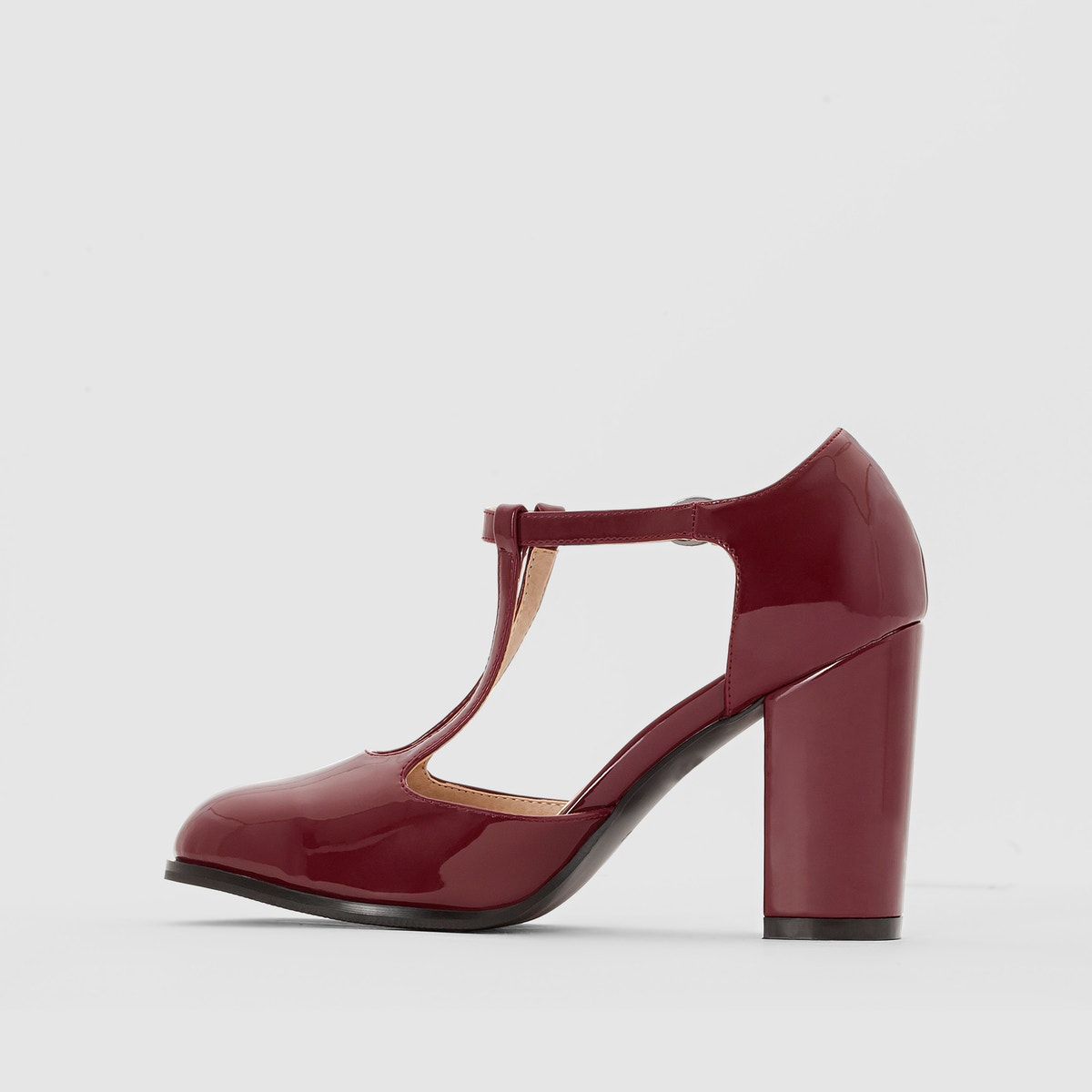 Castaluna Castaluna Castaluna Womens Wide Fit Patent Heels c9f077